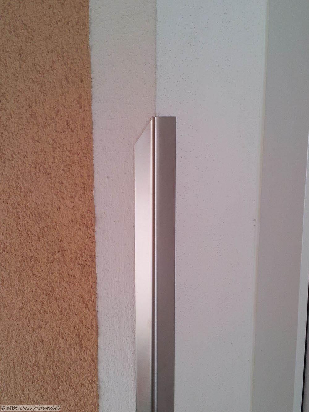 design kantenschutz mit einseitiger halbspitze 20x20mm l nge 1m. Black Bedroom Furniture Sets. Home Design Ideas