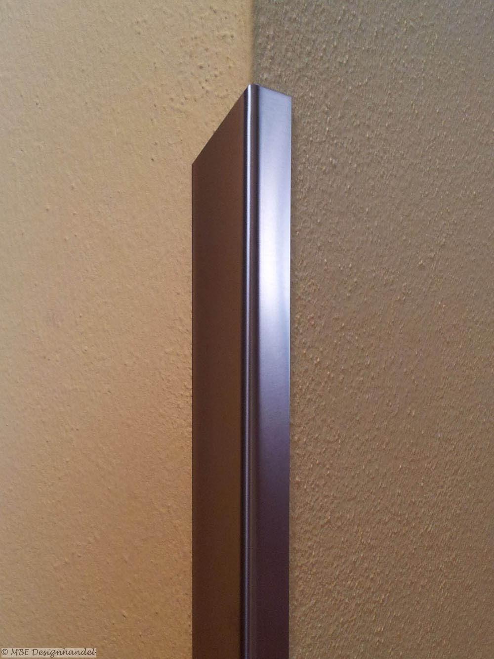 kantenschutz 40x40x1250mm 1 0mm edelstahl halbspitz links. Black Bedroom Furniture Sets. Home Design Ideas