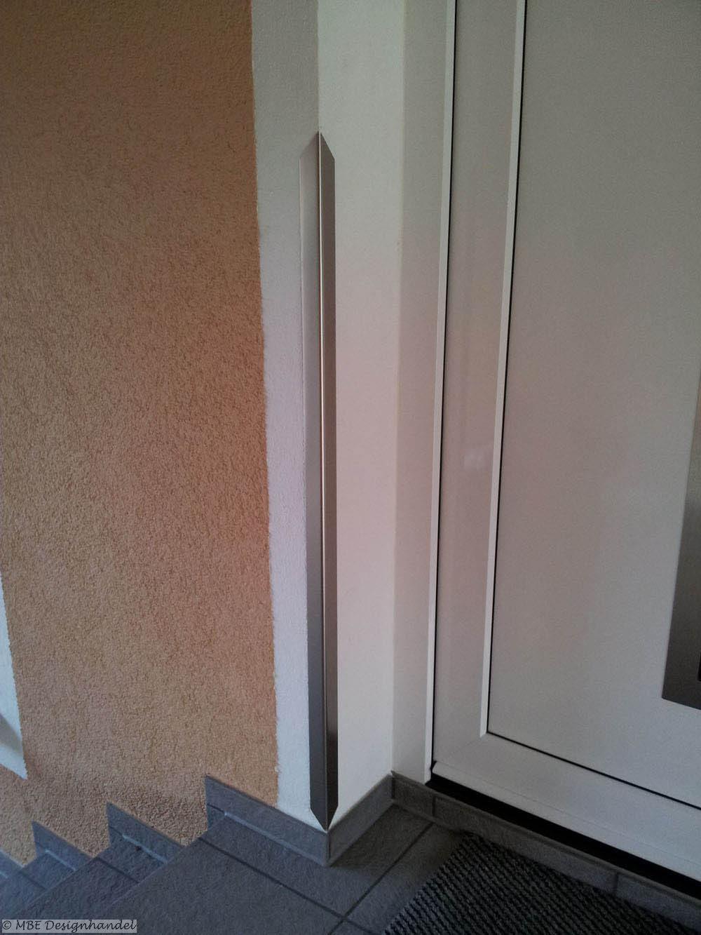 edelstahl kantenschutz mit spitze 60x60x1500mm 1mm stark. Black Bedroom Furniture Sets. Home Design Ideas
