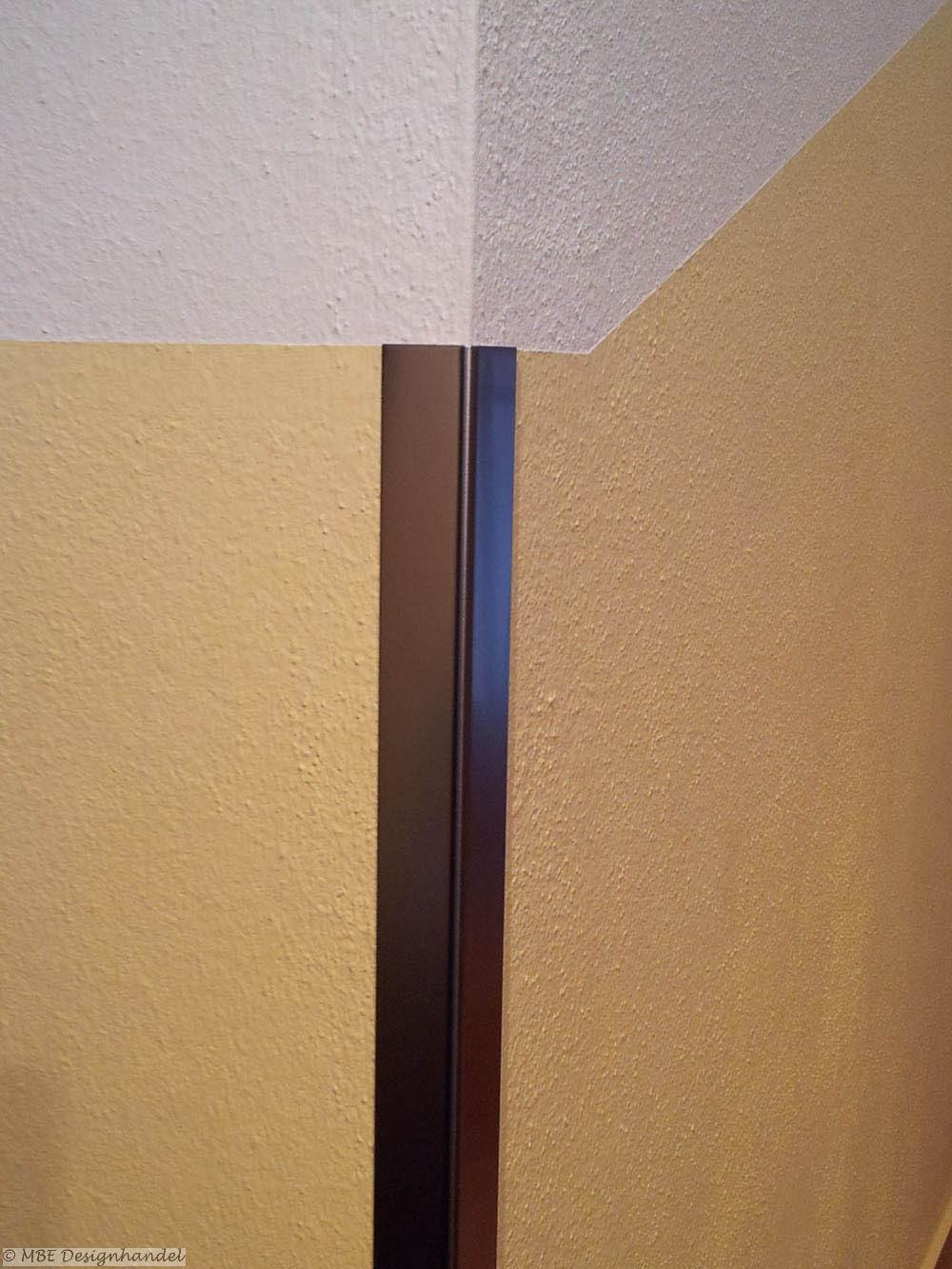 kantenschutz aus edelstahl für innen und außen: 30x30x1250 mm