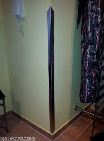 kantenschutz aus geb rstetem edelstahl schenkel 20x20mm 1m lang. Black Bedroom Furniture Sets. Home Design Ideas