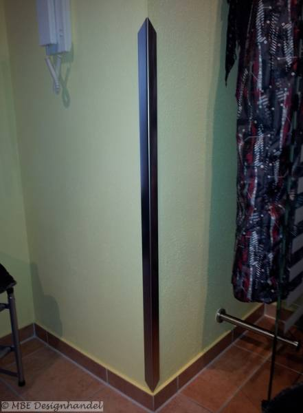 design edelstahl kantenschutz mit spitze 30 x 30 x 1000 mm. Black Bedroom Furniture Sets. Home Design Ideas